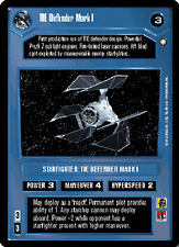 TIE Defender Mark I [Near Mint/Mint] SPECIAL EDITION star wars ccg swccg