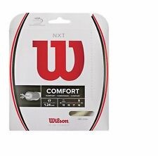 NEW WILSON NXT 17 (1.24) Tennis String Set NATURAL Pack