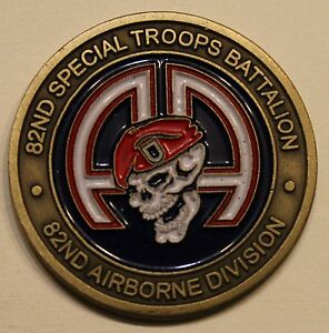 82nd special troops bn 82nd airborne raiders army challenge coin ebay