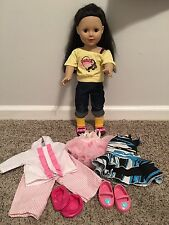 """MADAM ALEXANDER 18"""" DOLL WITH EXTRA OUTFITS AND SHOES"""