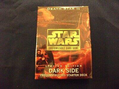Star Wars CCG Death Star II Starters SEALED GEM MINT CONDITION  2 decks L/&D