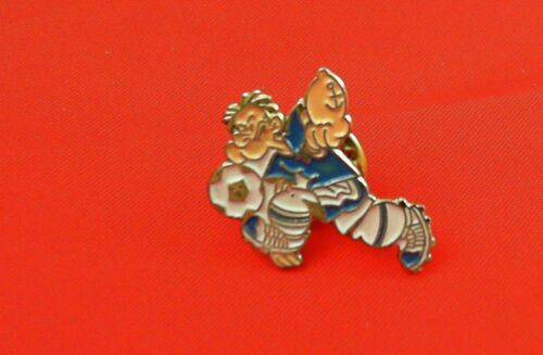 Comic Pin Badge Popeye Fussball