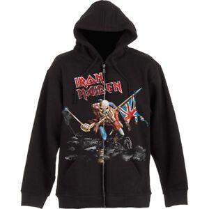 Details zu Iron Maiden The Trooper Kapuzenjacke 106416 #