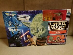 1998-Star-Wars-Micro-Machine-Yoda-Dagobah-Transforming-Action-Set