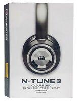Monster N-tune Noise Isolating On-ear Headphones W/ Controltalk - Dark Titanium
