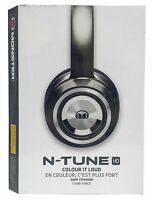 Monster N-tune Noise Isolating On-ear Headphones W/ Controltalk - Dark Titanium