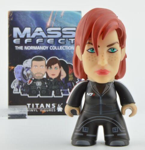 Mass Effect Titan Normandy 3-Inch Mini-Figure Female Commander Shepard 1//40