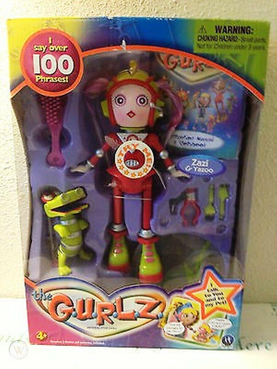 Zazi & Yazoo The Gurlz Interactive Doll (New in box)