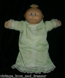 VINTAGE-CABBAGE-PATCH-KIDS-BABY-DOLL-BALD-GIRL-OR-BOY-STUFFED-ANIMAL-PLUSH-TOY-H