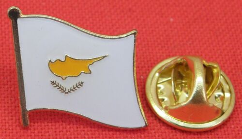 Cyprus Country Flag Lapel Hat Tie Pin Badge Brooch Κυπριακή Δημοκρατία Kıbrıs