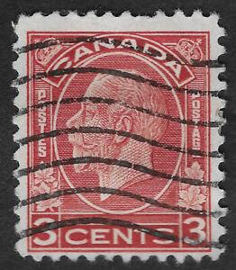 CANADA 1932 - 1933 King George V 3c  (HBX)
