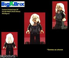 KILLER FROST Version #2 Flash DC Custom Printed LEGO Minifigure. NO Decals Used!