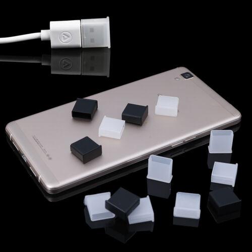 10Pcs Plastic USB male anti-dust plug stopper cap cover protector lids TBA