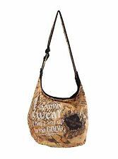 Harry Potter Marauders Map I Solemnly Swear Up to no Good Hogwarts Hobo Bag NWT