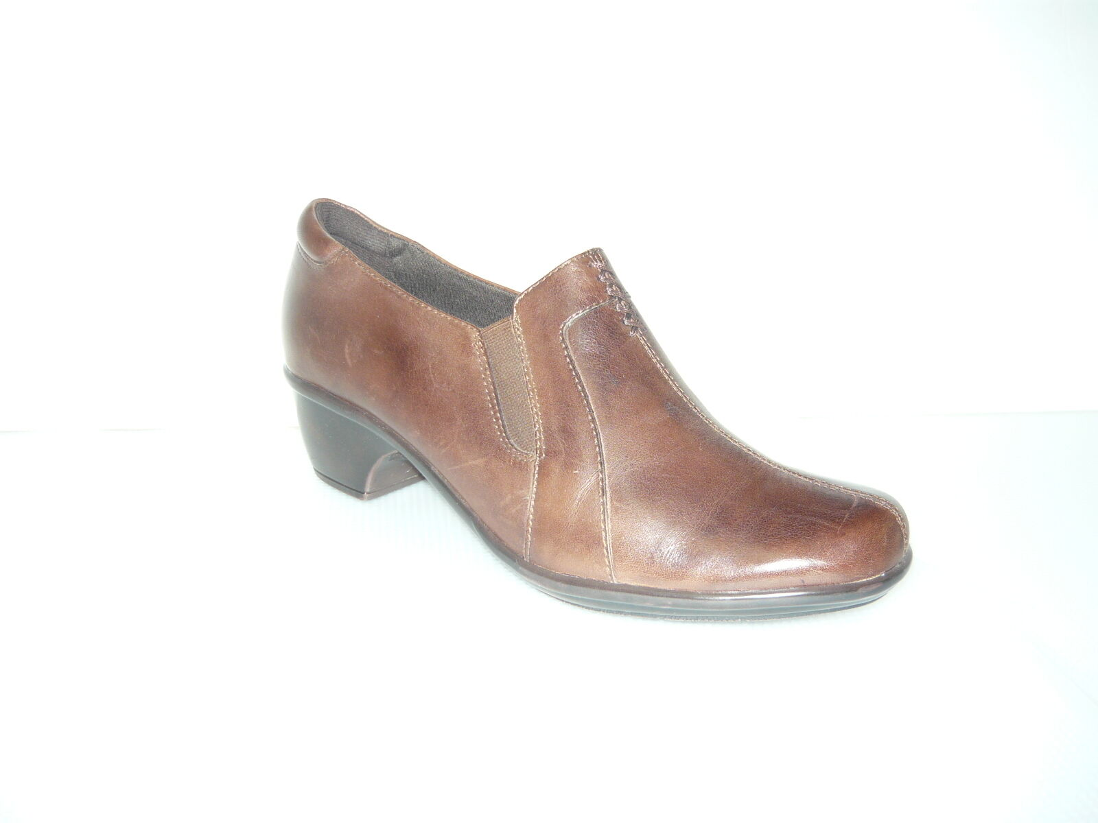 Clarks Casual Leather Slip-On sautope Leather donna sautope 7.5
