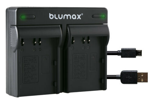 Bateria dual cargador para konica minolta np-400 Dynax 5d Dynax 7d90108-90306