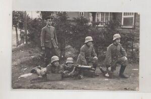 Foto-AK-Soldaten-mit-Stahlhelm-Freikorps-1-WK-MG-Maschinengewehr-Abteilung