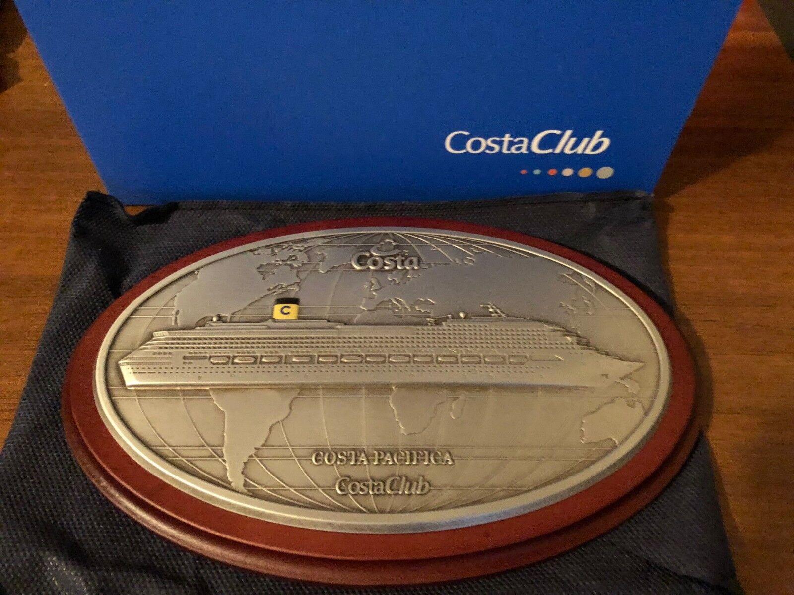 Targa Costa Grest Crociere Costa Pacifica Grest Costa Costa Club 34f3e8