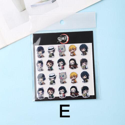 Kimetsu no Yaiba Anime Stickers Vinyl Decals Laptop Wall Graffiti Demon Slayer