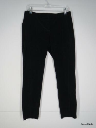 Theory Corduroy Pants Cords Size 6 S Black Stretch