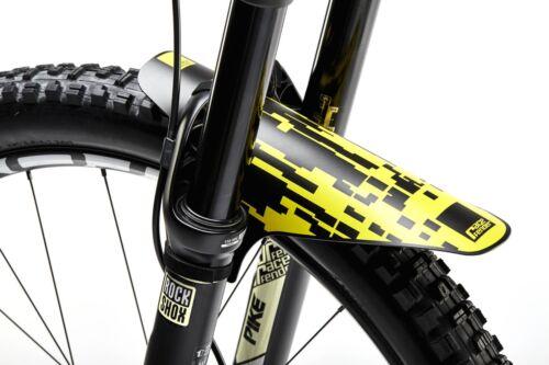 MTB Front or Rear Mudguard PIXEL Enduro Mountain Bike Fender Velcro Fastener
