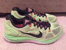 88fd34298904 item 3 Nike Lunarglide 5 Flyknit 599160-308 Mens Running Shoes Neon Black  Size 12.5 -Nike Lunarglide 5 Flyknit 599160-308 Mens Running Shoes Neon  Black Size ...