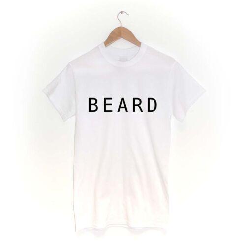 BEARD T SHIRTMANY COLOURSmoustache gym fitspo alpha facial hair bearded