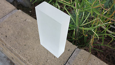 "4/"" INCH CIRCLE Frost LIGHT DIFFUSING 1//8/"" Acrylic Plexiglass Plastic Lens"