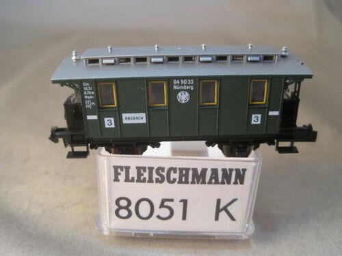 Fleischmann N schöner DRB Personenwagen  wie neu mit OVP 8051K