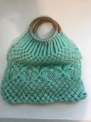 Handmade  crochet bag delivered in 1 to 5 working days with fedex. handmade bags for women