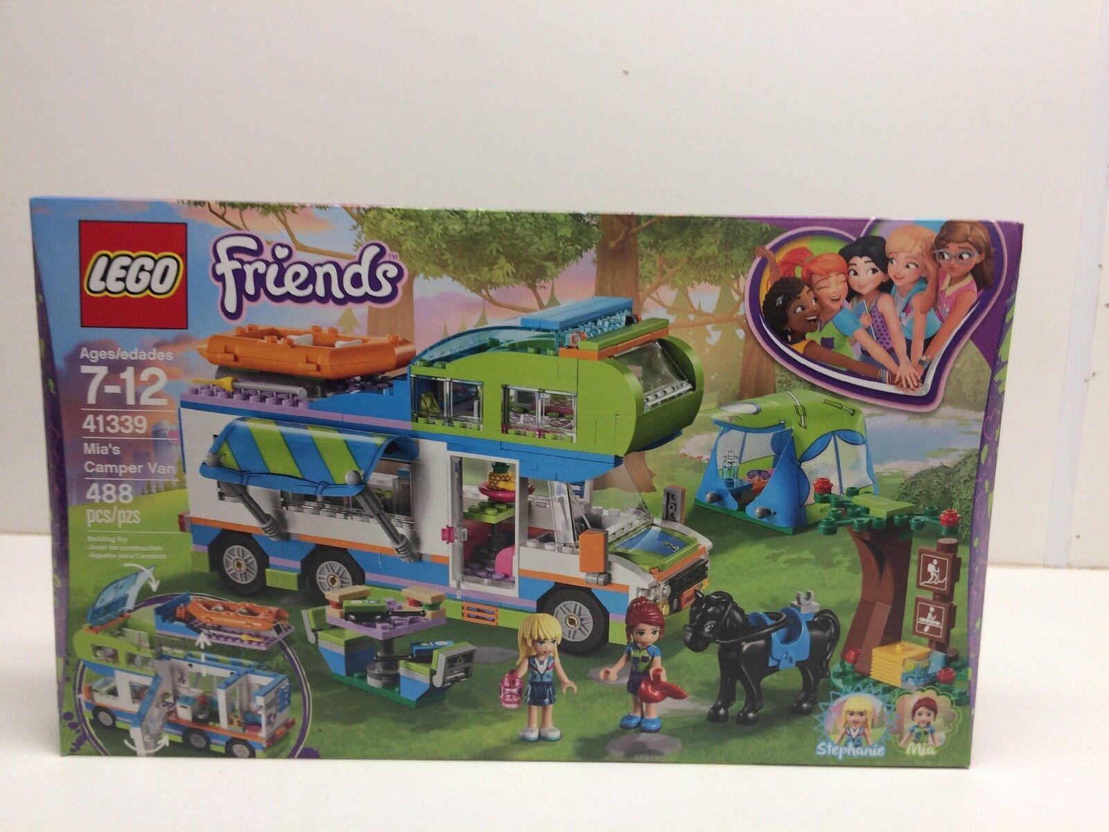 Nya Lego vänner 41339 Mia 65533;65533;Camper Van Factory förseglad NIB