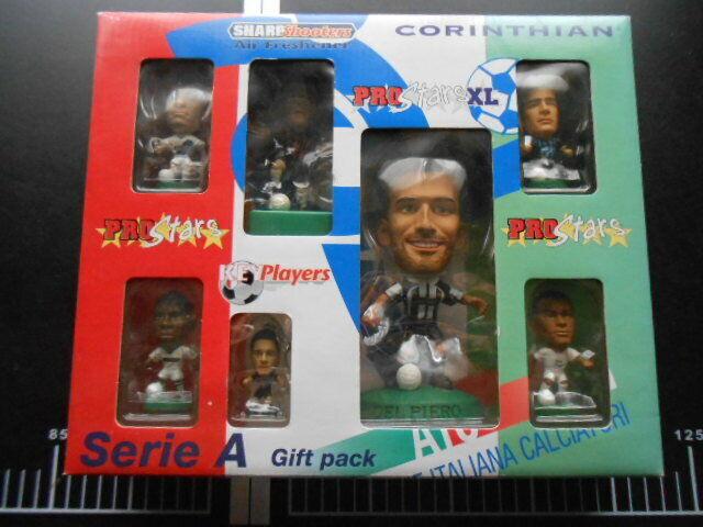 CORINTHIAN HEADLINERS cifra Proestrellas Serie A Gift Pack Del Piero Rebaud xl Juve