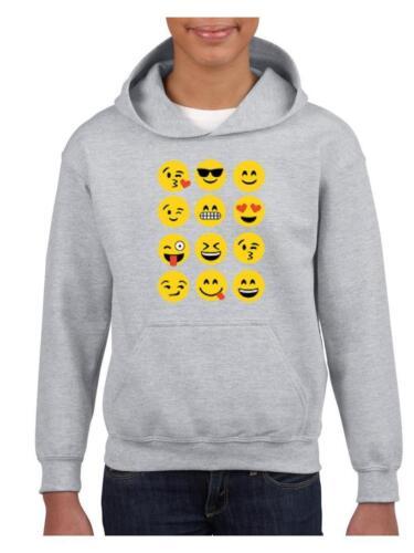 Hoodie Emoji Group Popular Emojies Gift for BFF Birthday Youth Hoodies Sweater