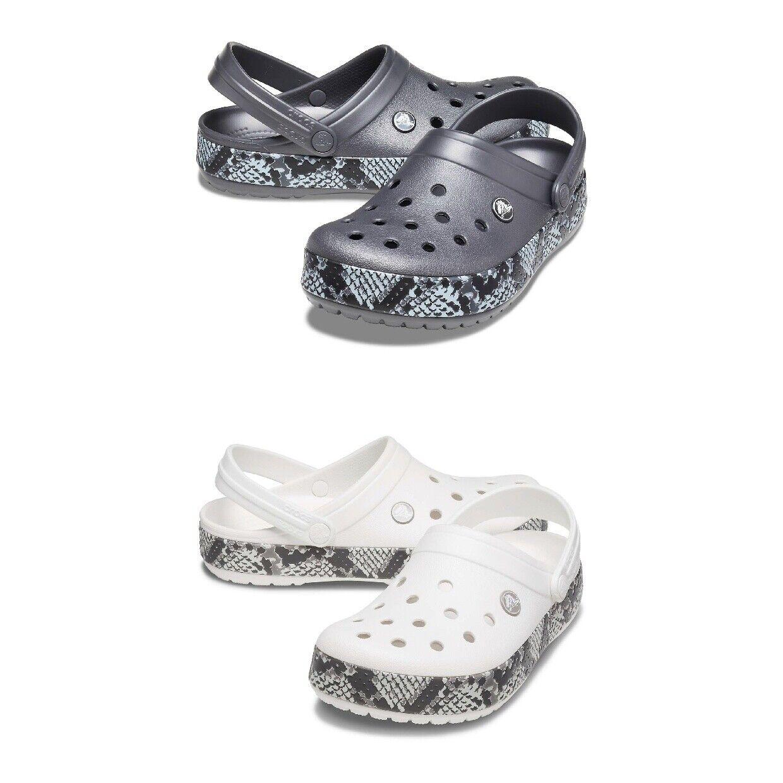 Crocs Crocband Snake Print Clog Unisex