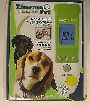 Pet Thermometer Non Contact Talking Infrared Measure Dog Temperature Thermo Pet