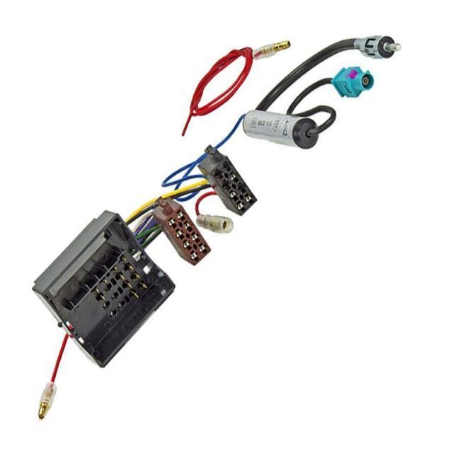 Citroen C1 C2 C3 C4 C5 C6 C8 Radio Adapter DIN Fakra Antenne Phantomeinspeisung