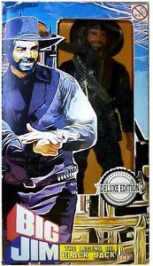 BIG JIM THE WHIP 1975 INEDITO ☆THE LEGEND OF BLACK JACK☆  MOCKUP HANDMADE ►NEW◄