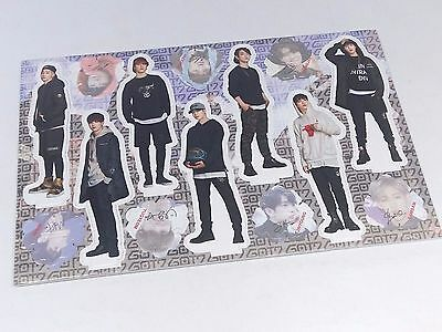 GOT7 Standing Paper Doll Korean Pop Star KPOP JB Mark Junior Jackson YoungJae