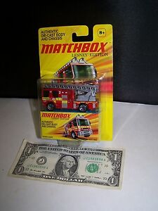 Matchbox-Lesney-Edition-Red-Dennis-Sabre-Fire-Engine-Truck-2011