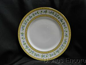 Krautheim//Franconia FR115 Floral with Blue Trim s Cup and Saucer Set