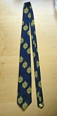Necktie // Tie with U.S USNA insignia Naval Academy