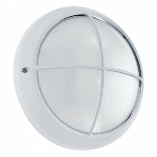 SIONES LED Aussen-wandleuchte Ø 26cm WEISS Leuchte  l Löhne Möbeldiscount