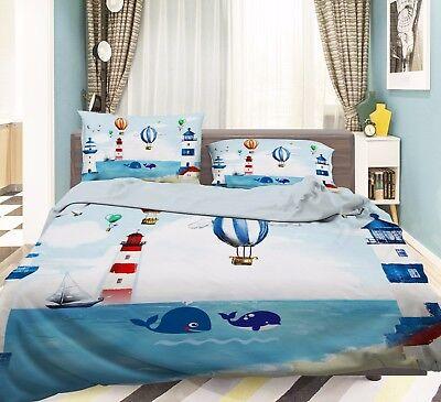 Möbel & Wohnen 3d Wal Ozean 502 Bett Kissenbezüge Steppen Duvet Decken Set Single De Carly Und Verdauung Hilft