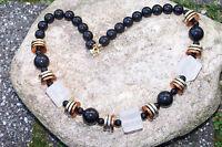 Halsketten - Perlenkette sehr elegant 44 cm NEU (7030+)