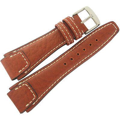 043ecdd7a 20mm Rios Mens Nature Cognac Tan Buffalo Leather German Pilot Watch Band  Strap
