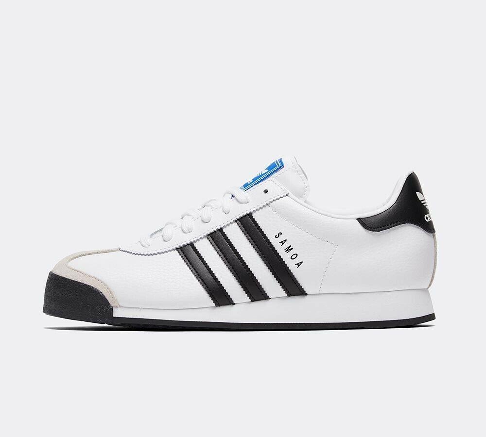 Adidas Original Samoa Vintage Turnschuhe Weiß Schwarze Schuhe