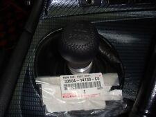 JDM OEM TOYOTA SUPRA 6 SPEED GEAR SHIFT KNOB JZA80 LEATHER NEW 33504-14130 F/S