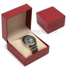 Single Grid Slot Watch Display Case Organizer Gift Box Jewelry Storage Holder