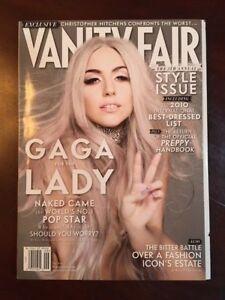 cover vanity fair Lady gaga