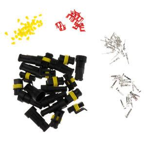 10-paar-Universal-KFZ-Kabelverbinder-Stecker-Auto-Wasserdicht-Stecker-Fuer